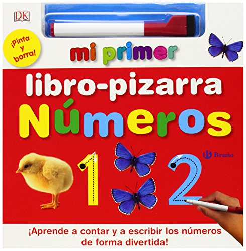 Mi primer libro-pizarra números / My first board book of numbers (Spanish Edition)