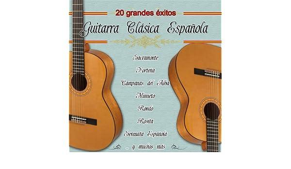 20 Grandes Exitos Con Guitarra Clasica Española de Varios ...