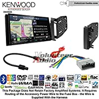 Volunteer Audio Kenwood Excelon DNX994S Double Din Radio Install Kit with GPS Navigation Apple CarPlay Android Auto Fits 2009-2010 Ram 2011-2014 Chrysler 200 (REF, REC, and RAK Factory Radios)