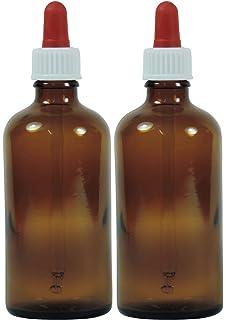 Viva Haushaltswaren nbsp;– 10 frascos cuentagotas de vidrio, para farmacia, color marrón,…