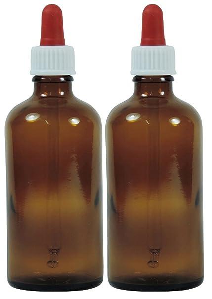 Viva Haushaltswaren nbsp;– 10 frascos cuentagotas de vidrio, para farmacia, color marrón