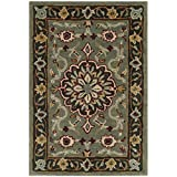 Safavieh Heritage Collection HG736A Grey and Charcoal Area Rug (2′ x 3′) Review