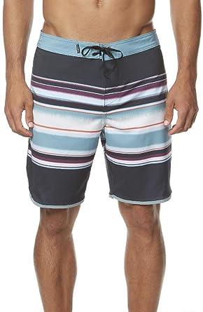 58a3ea0c3d O'Neill Men's Water Resistant Hyperfreak Stretch Swim Boardshorts, 19 Inch  Outseam (Black