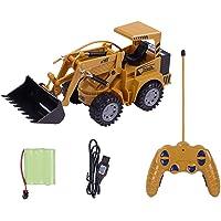 لعبة سيارة بناء وحفار كهربائي 1:24 5CH للتحكم عن بعد للأطفال من روليكسي Shovel Loader XYT2948-1OSSA