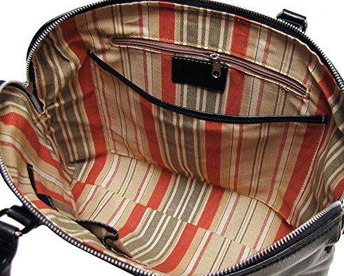 (Floto Milano Leather Italian Slim Briefcase Attache)