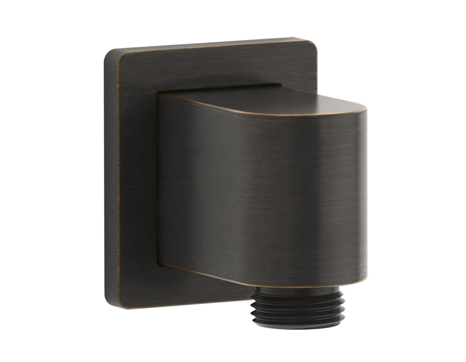 Kohler Awaken K-98351-2BZ Wall-MUNT Supply Elbow with Check Valve Oil-Rubbed Bronze by Kohler