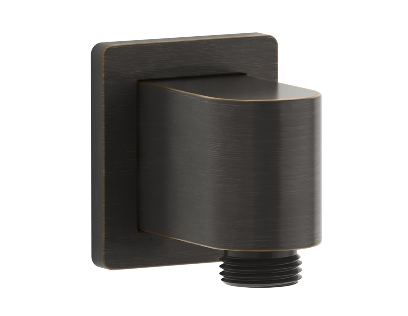 Kohler K-98351-2BZ Awaken Wall-Munt Supply Elbow with Check Valve Oil-Rubbed Bronze by Kohler