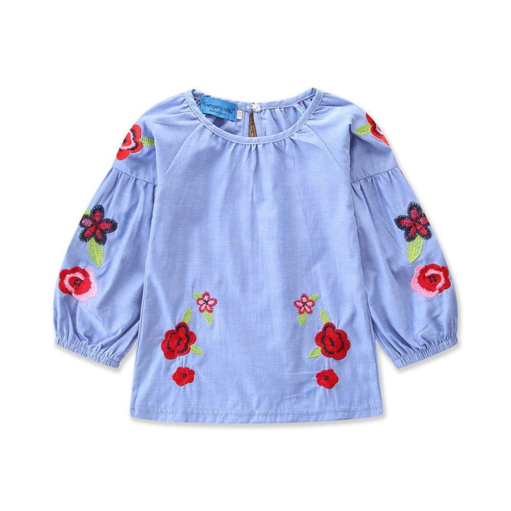 1381db5696 Parcel will arrive in 9-16 days. ✿ Embroidery floral shirt