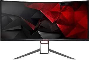 "Acer G-SYNC,34""Curve IPS-LED,21:9,3440x1440@60Hz OC to 100Hz,4ms,1xHDMI,1xDP,USB HUB 3.0,Spk,Tilt,Height Adj,VESA(100x100),3Yrs Warranty"