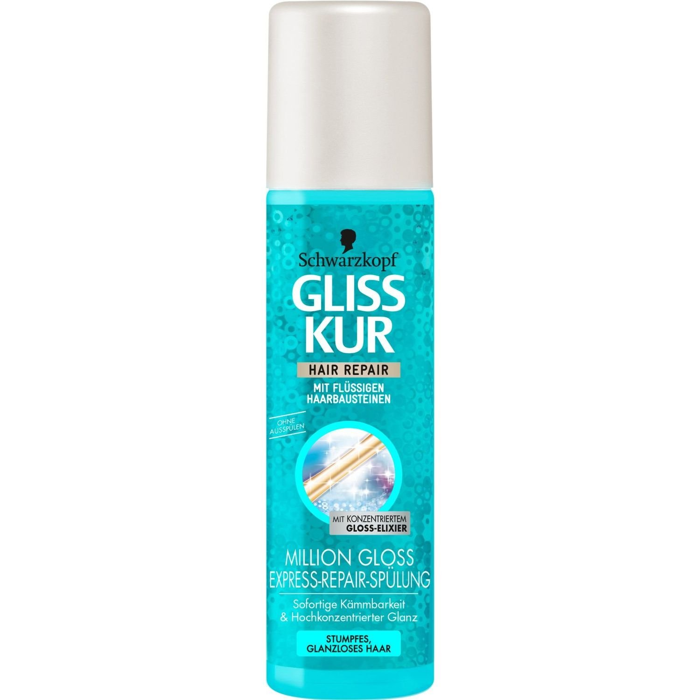 Amazon.com: Gliss Kur Million Gloss Express Repair Conditioner Spray ...