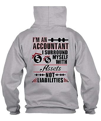 8c307beb Amazon.com: I'm an Accountant Hoodies, I Love Accountant T Shirt ...