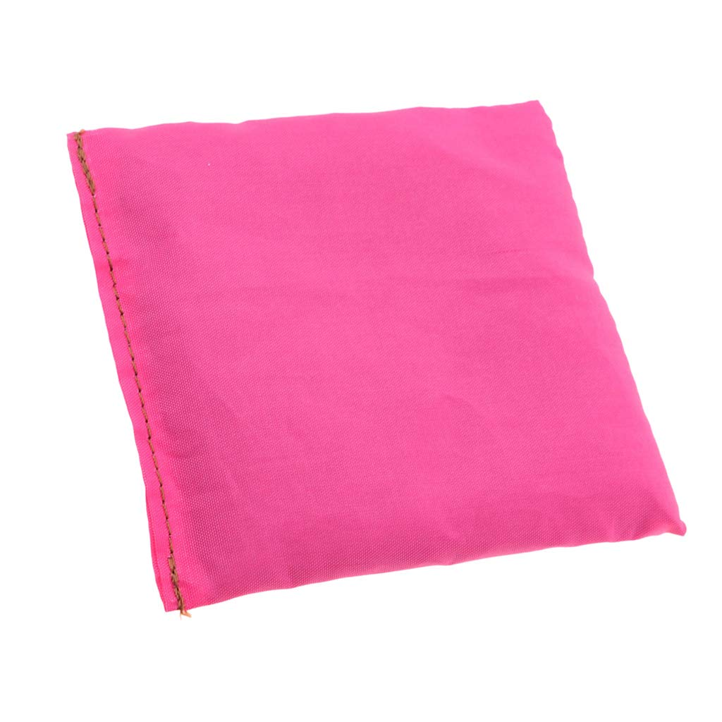 Homyl Double Layer Cornhole Bag Replacement Bean Bag For Tossing Corn Hole Toss Game sports 2 color 10 x 10 cm