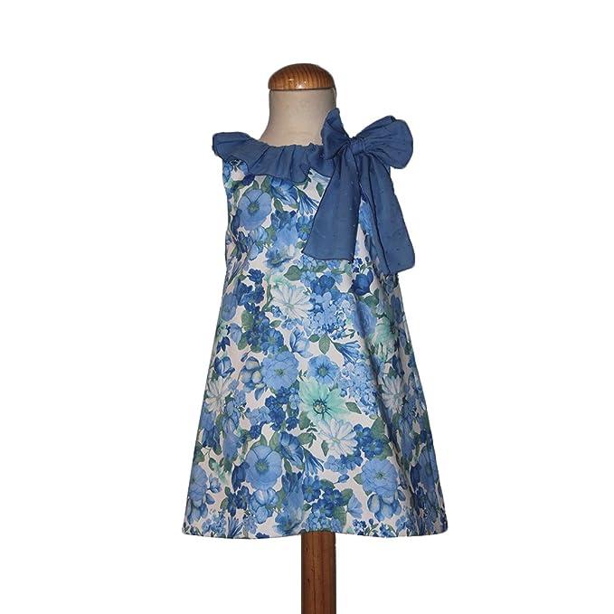 CARMEN VAZQUEZ- Vestido evasé Estampado Floral. (2)