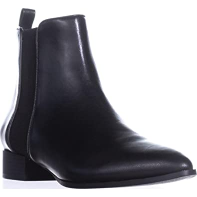 bc31ffe6ce29 DKNY Womens Talie Leather Pointed Toe Ankle Fashion Boots