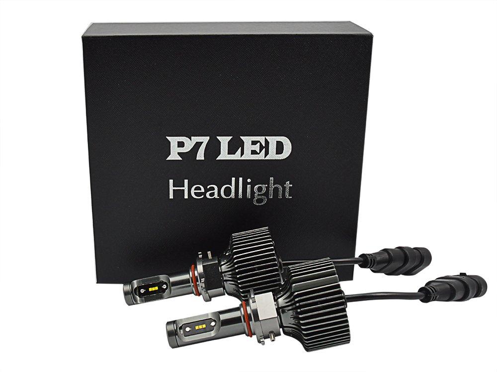 KATUR 2個 HB3/ H10/9005 30W 4200LM6000Kホワイト電球は、ヘッドライトのLED B01IGRXK0K