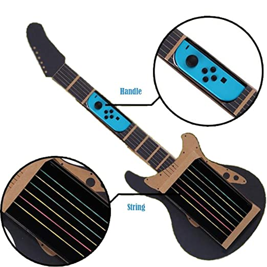 Guitarra para hacer papel, juguetes educativos, juguetes de cartón, accesorios de guitarra DIY
