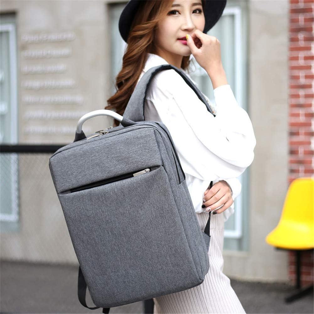 Color : Gray Zhouminli Mens Backpack Shoulder Computer Backpack Fashion Trend Computer Backpack Outdoor Travel Student Backpack Multifunctional Backpack for Men