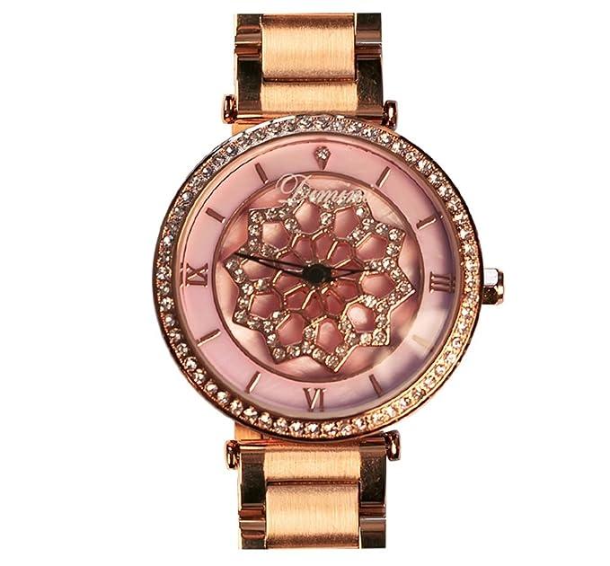 Reloj de mujer de lujo reloj de diamantes resistente al agua reloj de mujer elegante reloj