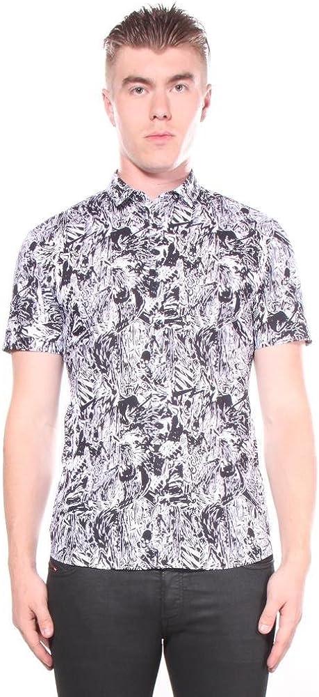Hugo Boss Mens Empson Button Down Shirt Shirts 100/% Cotton