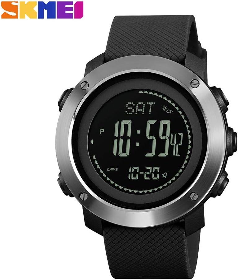 YCDC 1418 - Reloj de pulsera para hombre, diseño con altímetro y barómetro