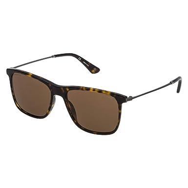 6b98caaa6 Police Sunglasses For Men, Brown SPL572C56722P 56 mm: Amazon.ae