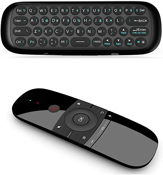 Teclado inalámbrico de 2,4 G con sensor de movimiento para Smart TV Android TV Box PC: Amazon.es: Hogar