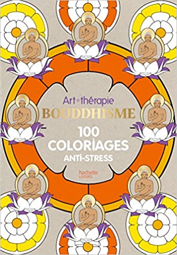 Coloriage Arbre Anti Stress.Bouddhisme 100 Coloriages Anti Stress Amazon Ca Marthe Mulkey