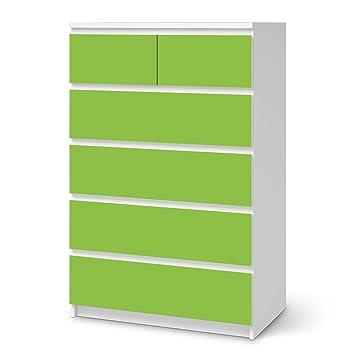 Creatisto Dekosticker Für Ikea Malm 6 Schubladen (Hoch) | Muster  Möbel Aufkleber Folie