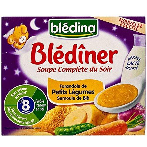 Bledina Blediner Soup Vegetables & Semolina 2 x 25cl