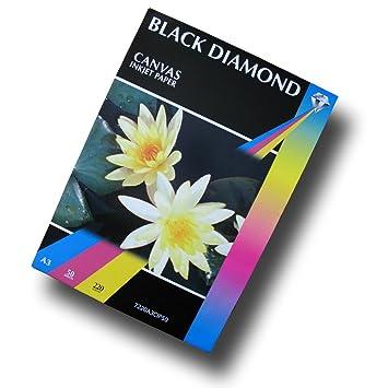 black diamond a3 canvas inkjet paper 220gsm qty 50 amazon co uk