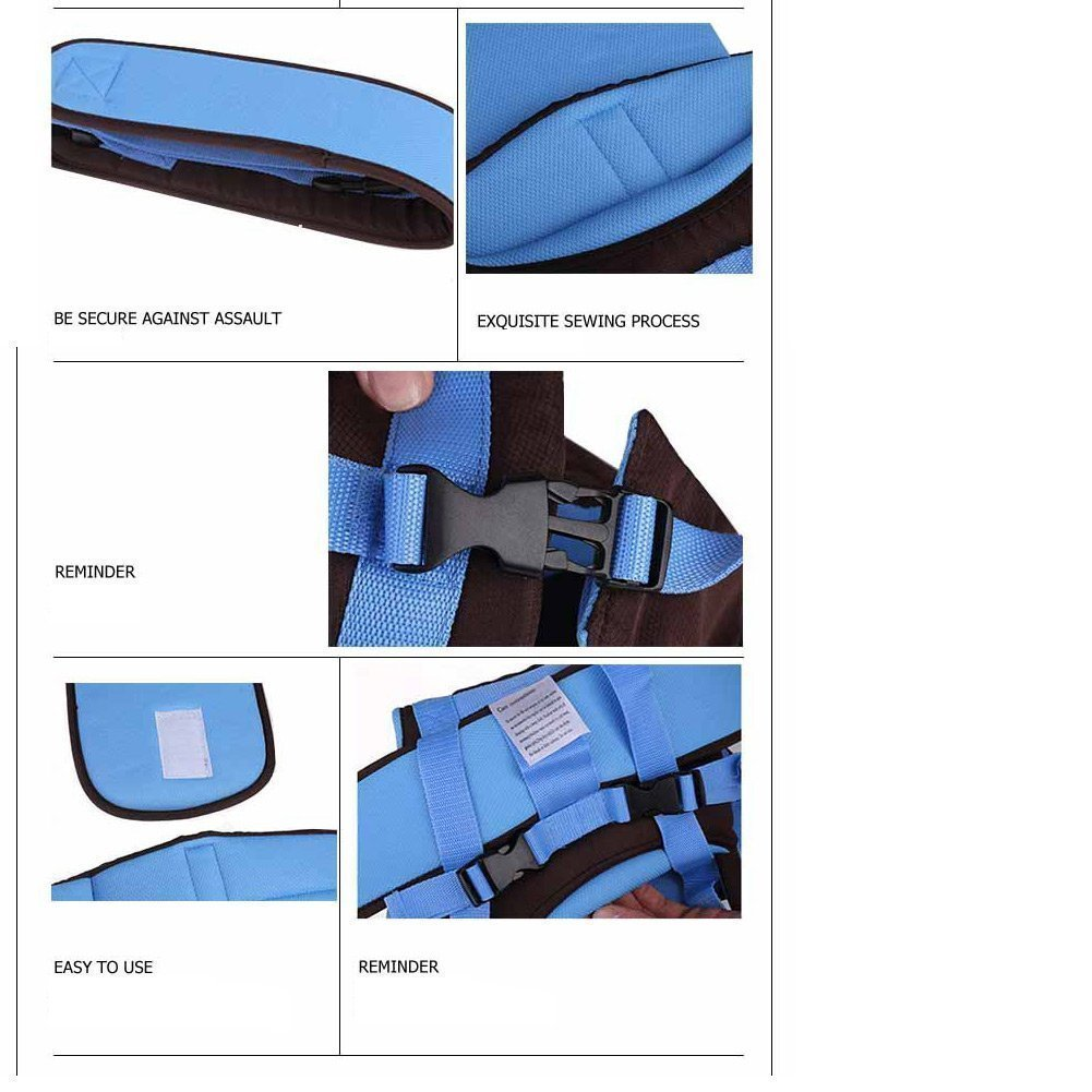 Vine Ajustable 4 posiciones de módulos 3D Mochila bolso de la bolsa del abrigo suave estructurado infantil ergonómico honda Anverso bebé recién nacido Vine Trading Co. Ltd A160531BD01602V