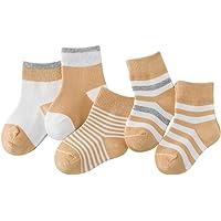 DEBAIJIA Niños Niñas Calcetines De Algodón Cómodo Suave Jogging Absorben el Sudor Antibacteriano primavera verano otoño…