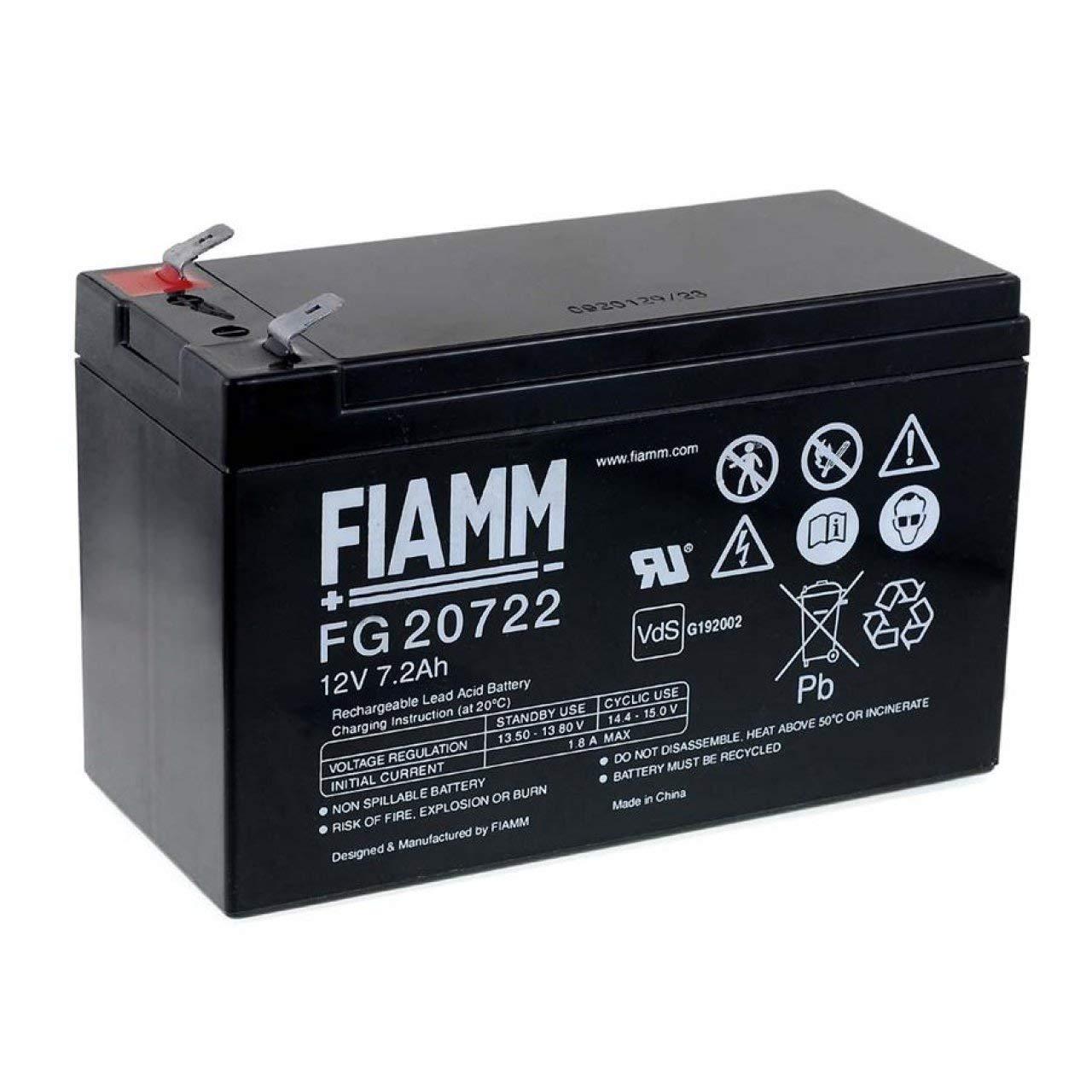 akku-net FIAMM Ersatzakku für USV APC Back-UPS ES 700, 12V, Lead-Acid