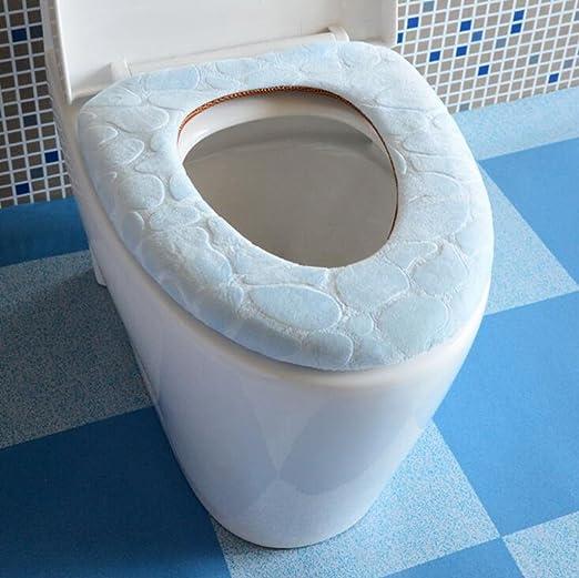 Doble cara wc pad cómodas asiento de inodoro inodoro cojín ...