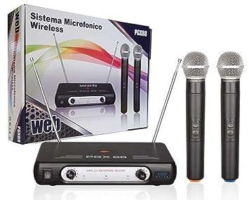 Wireless mikrofone art mic zwei stÜcke vhf pgx funkmikrofon