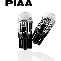 【Amazon.co.jp限定】PIAA ポジション用 LED T10 6000K 85lm 高光度ハイスペックLED_車検対応 2個入 12V/1W 定電流回路内蔵 X7319