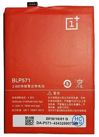 Todobarato24h Bateria ONEPLUS 1 One, 3000 mAh Voltaje 4.35v BLP571