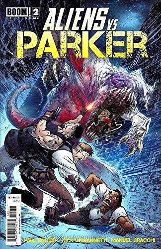 Aliens vs. Parker #2 VF/NM ; Boom! comic book