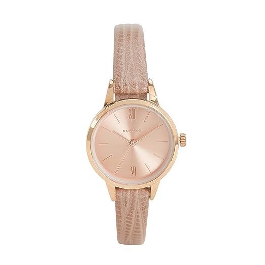 Parfois - Reloj Rose Gold Tray - Mujeres - Tallas Única - Gris Pardo