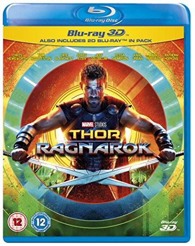 Thor Ragnarok  Blu Ray 3D   Blu Ray   International Version