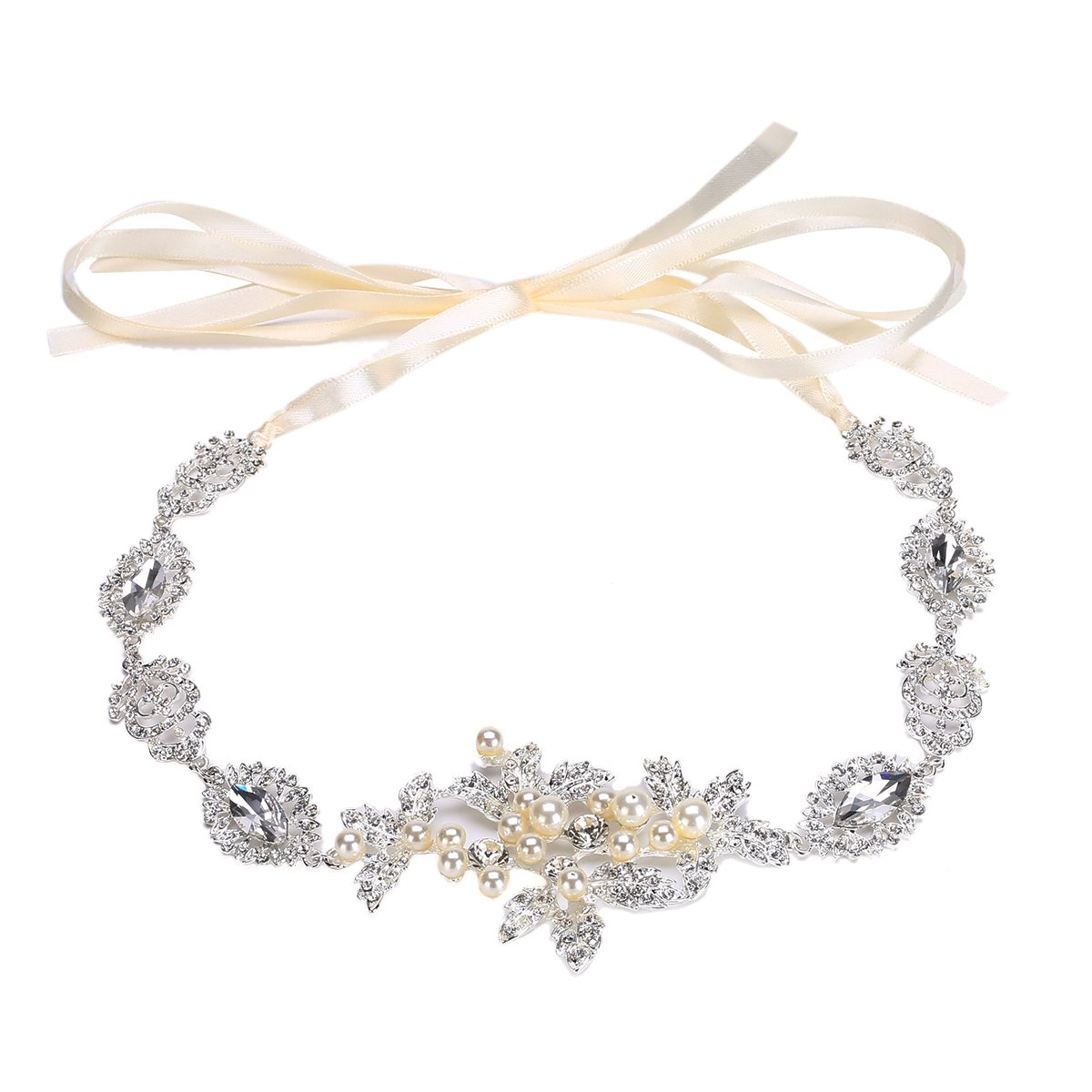 TININNA Diadema de Flores,Exclusivo damas griegas encargo dulce elegante de la joyería del pelo del ...