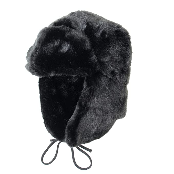 9079bcc71019e Epic Militaria Faux Fur Ushanka Trapper Hat  Amazon.co.uk  Clothing