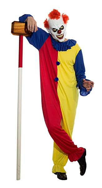 Amazon.com Sponch Costumes Killer Clown Costume Adult