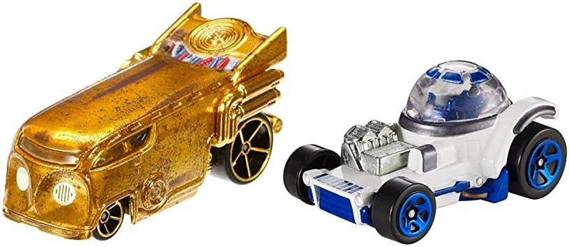 Hot Wheels - Pack Coches Star Wars R2-D2 (Mattel CGX04): Amazon.es ...