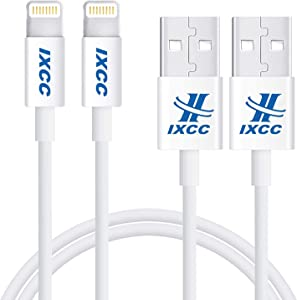 [2Pack] Long iPhone Charger Cable, iXCC 10 Feet Lightning Charge Cable for iPhone Xs Max/XR/X/SE/5/5s/6/6s/6s Plus/7/7 Plus/iPad Mini/Air/Pro [Apple MFi Certified]