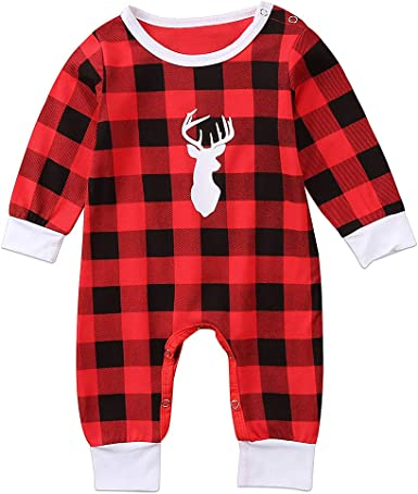 Thin Red Line Flag Newborn Baby Boy Girl Romper Jumpsuit Long Sleeve Bodysuit Overalls Outfits Clothes