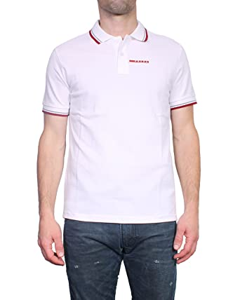 e26b20e199120 Prada Polo pour Homme Slim Fit SJJ887  Amazon.fr  Vêtements et ...