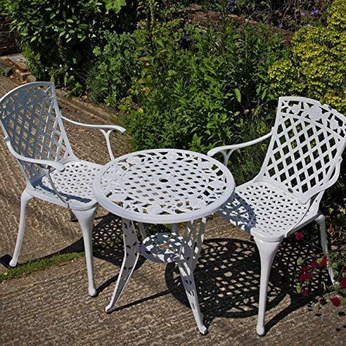 Lazy Susan - Table bistro ROSE et 2 chaises de jardin ...