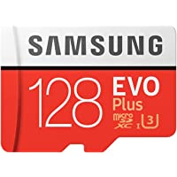 Samsung EVO Plus 128GB microSD Memory Card UHS-I U3 100MB/s (MC128G)