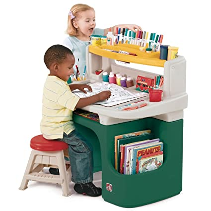 Step2 Art Master Activity Desk for Toddlers - Kids Learning Crafts Table with Chair and Storage  sc 1 st  Amazon.com & Amazon.com: Step2 Art Master Activity Desk for Toddlers - Kids ...